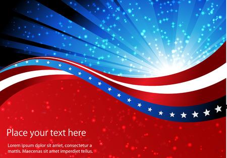 spojené státy americké: abstraktní pozadí americké vlajky, symbol sjednocený