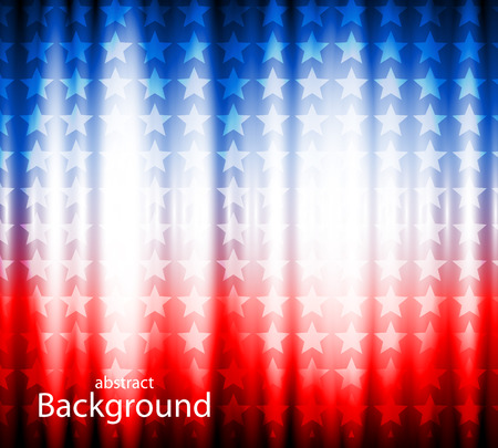 abstract background of the American flag,symbol united Ilustração