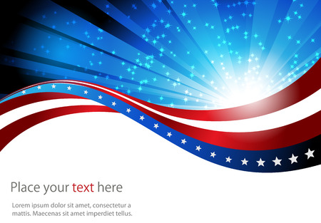 abstract background of the American flag,symbol united 일러스트