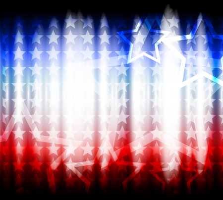 day to day: abstract background of the American flag,symbol united Illustration