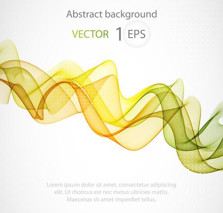 decoration design: Abstract color wave design element, concept decoration