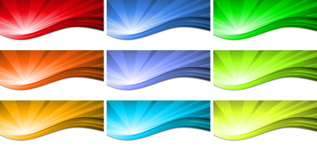 colorful abstract background: Abstract colorful wave background. Vector. colored light beams