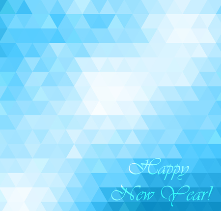 Merry Christmas Landscape. Vector Merry Christmas Happy New Year