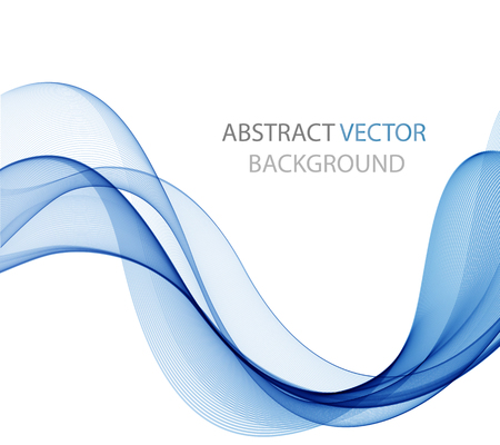 smooth curve design: Abstract color wave design element, concept decoration