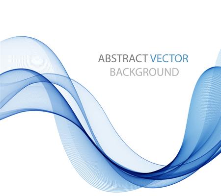 curvas: Elemento abstracto del diseño de la onda del color, el concepto de la decoración Vectores