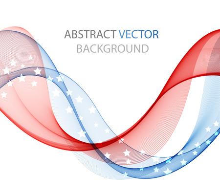 Abstract kleurgolf ontwerpelement, concept decoratie