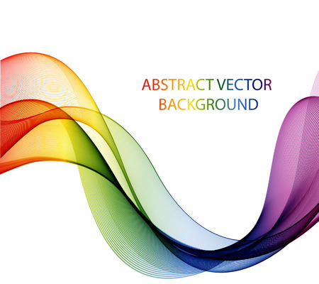 colours: Abstract color wave design element, concept decoration