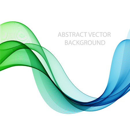 colorful background: Abstract color wave design element, concept decoration