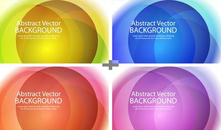 bokeh abstract light background Vector illustration abstract Иллюстрация