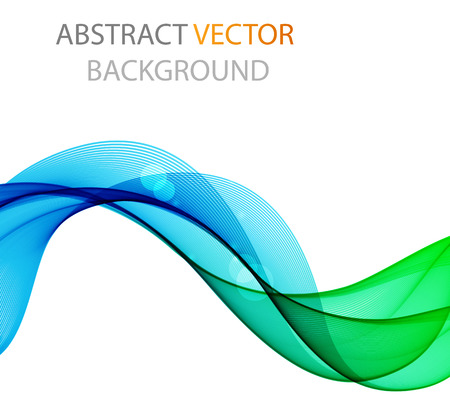 Abstract waves wave, abstract, vector illustration, background, graphic modern design