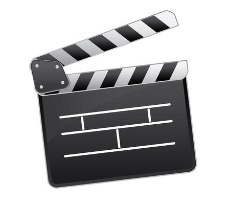 famous industries: Movie clapper icon