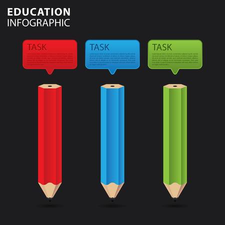 study concept: Education info graphic, study concept