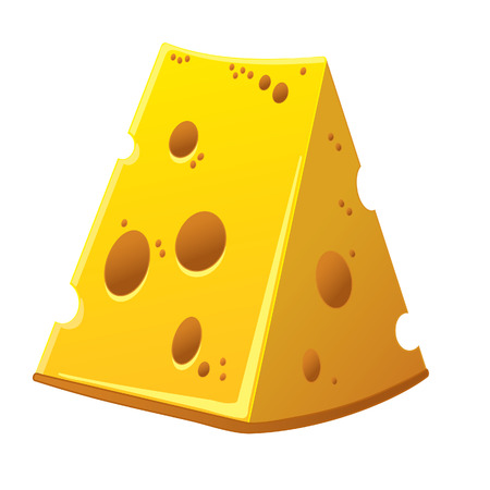 holes: Swiss yellow cheese with holes