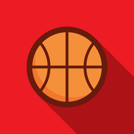 basketball: Basketball ball retro poster, sport and recreation concept