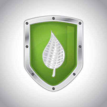 protection concept: Eco-friendly floral security shield