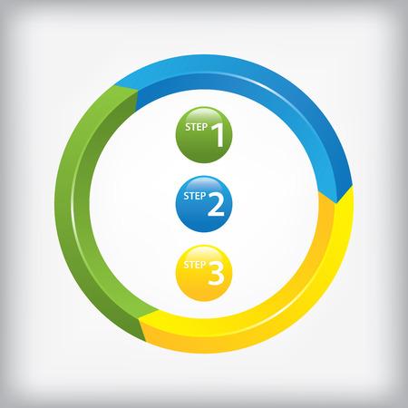 Web design elements. Info graphic elements. Illustration
