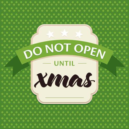 greeting christmas: Decorative Christmas greeting card Illustration