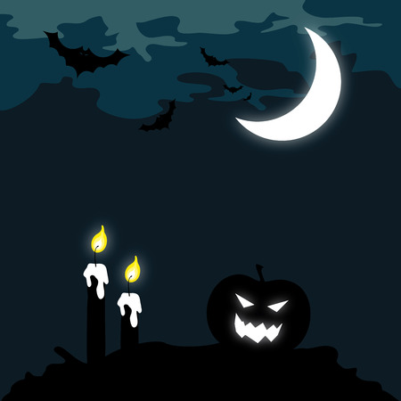 holiday background: Scary Halloween background, holiday concept