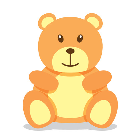 stuff toys: Cute teddy bear illustration Illustration