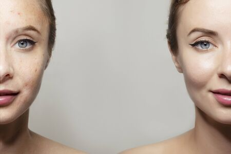 Anti-aging beauty cosmetics banner