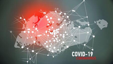 Singapore, covid-19, Global virus and world virus infection visualization