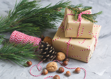 Christmas Pine Cones Nuts