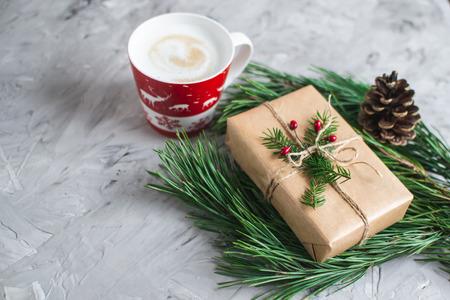 Christmas Cake Cupcake