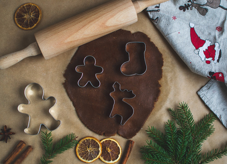 Gingerbread Gingerbread Christmas Star Cookies