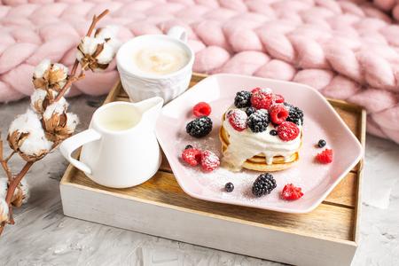 Homemade Pancakes 版權商用圖片