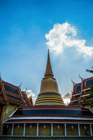 Wat Ratchabophit Temple in Bangkok, Thailand Stock Photo