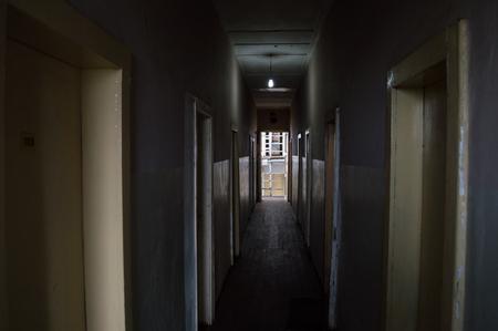 Hotel Hallway, Addis Ababa, Ethiopia Editorial