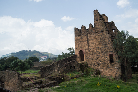 Fasil Ghebbi Castle (Royal Enclosure), Gondar, Ethiopia