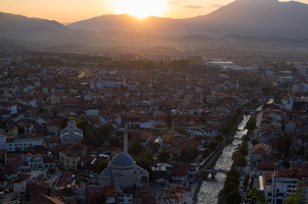 Sunset View from Prizren Fortress, Kosovo