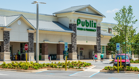 Publix is a food and pharmacy chain.  This store is located in Hickory, NC, USA.