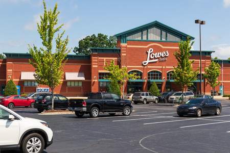 HICKORY, NC, USA-22 JUNE 18:  Lowes Foods is a grocery chain basesd in Winston-Salem, N.C., which operates 80 stores throughout North and South Carolina, and Virginia.