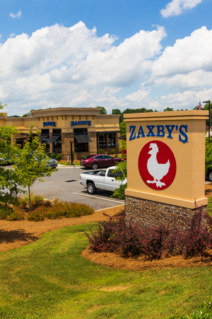 Hickory Nc Usa 22 June 18 Zaxbys Is A Chain Of Fast Food Stock