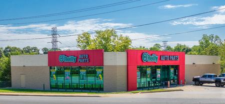 HICKORY, NC, 9218: An OReilly Auto Parts store exterior.