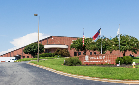 HICKORY, NC, USA-9218: Fiberline Mfg., manufacturer of synthetic fibers.