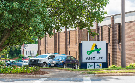 HICKORY, NC, USA-9/6/18:  The corporate offices of Alex Lee, Inc., a wholesale distributor of food and non-food items to grocery stores. Businesses include Merchants Distributors, IFH, and  Lowe's Food stores.  No people in image.