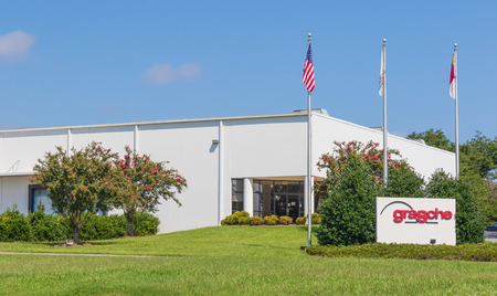 HICKORY, NC, USA-9218: Grasche is a manufacturer of custom saw bodies, circular saw plates & steel cores.