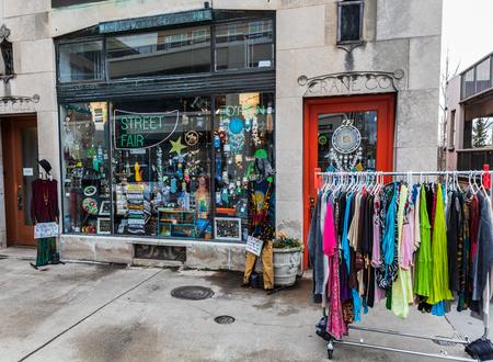 ASHEVILLE, NC, USA-1/18/19:  A shop called Stock Photo - 117248460