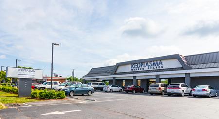 HICKORY, NC, USA-5319: Kedplasma, a Kedrion Biopharma company, is a plasma resourcing company that pays for plasma donations.