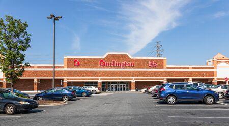 CHARLOTTE, NC, USA-28 July 2019: Burlington, formerly called