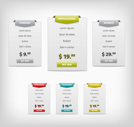web price banners for business plan
