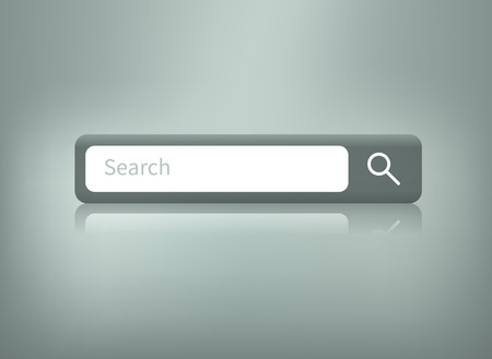 Web element. Isolated search bar.