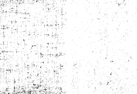 Two grunge black and white stripe vector. Set of dirt overlay texture ready to place over any objects. Illustration