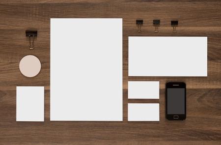 business cards design: Template branding identity for graphic designers. Presentations and portfolios.