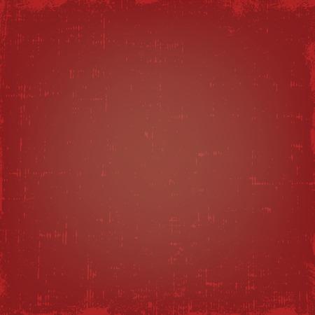 retro grunge: Vintage grunge vector texture with dust. Red retro gradient background.