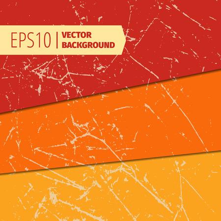 backgrounds texture: Set of scratched vintage grunge backgrounds. Vector EPS10 format texture.