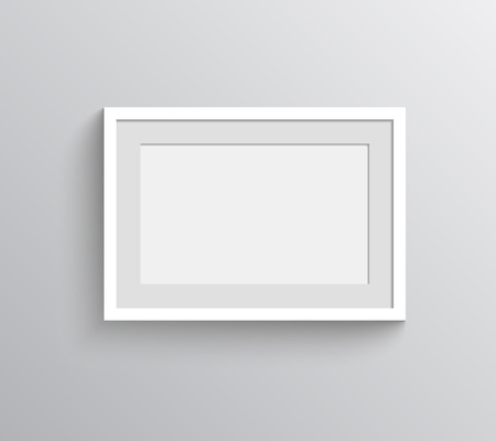 Picture frame design for painting or photography show.